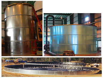 Bolted Steel Modustor Tanks