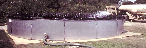 Grey Water Containment Tank - For Storm Response & Clean Up