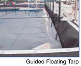 Modular Tanks - Guided Floating Tarp