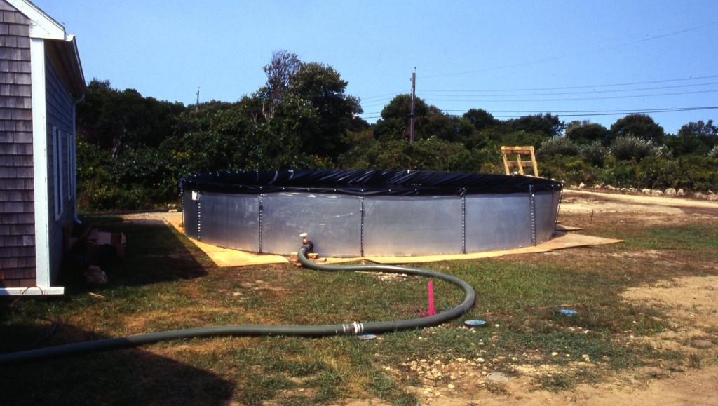 field erected tank rentals