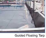 Modular Tanks - Guided Floating Tarp